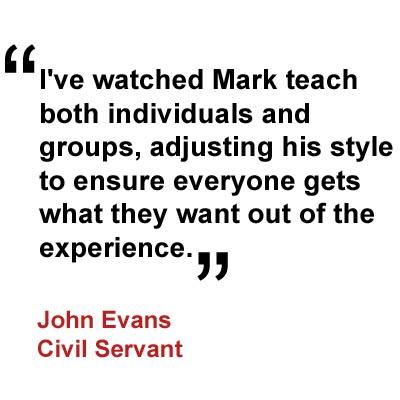 Testimonial John Evans 2