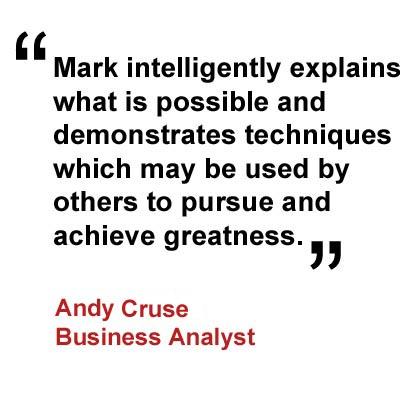 Testimonial Andy Cruse